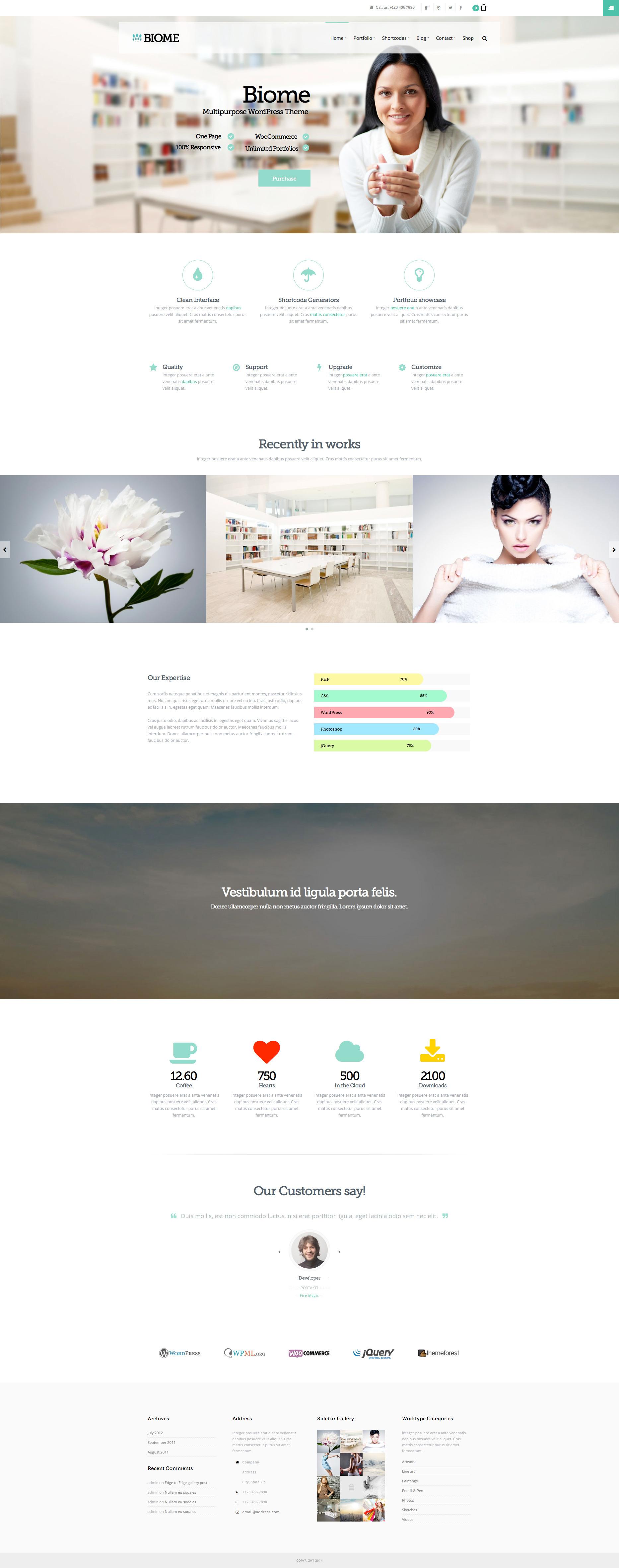 - Business|Creative|OnePage