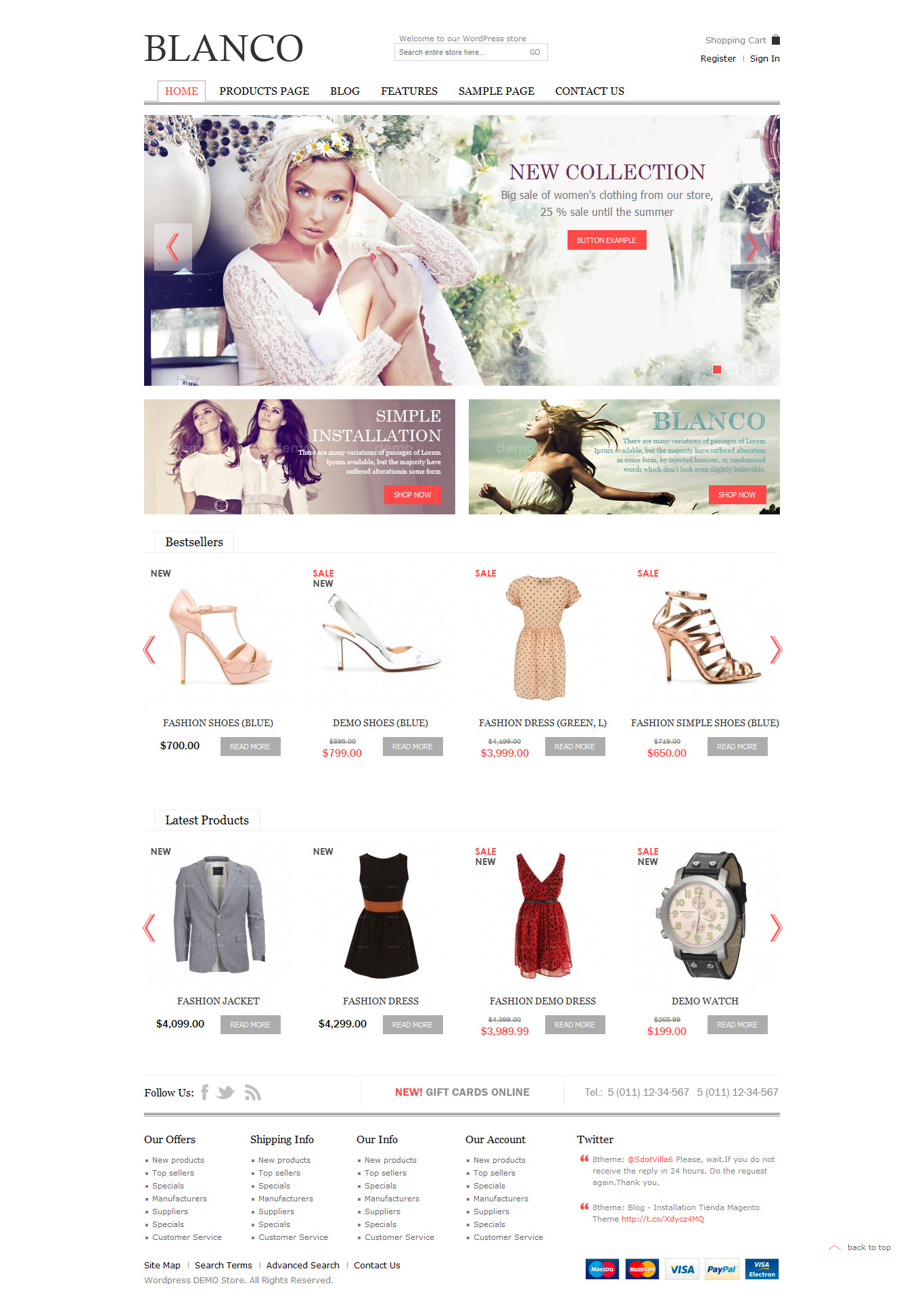 Blanco - Responsive WordPress WooCommerce Theme - Ecommerce>WooCommerce