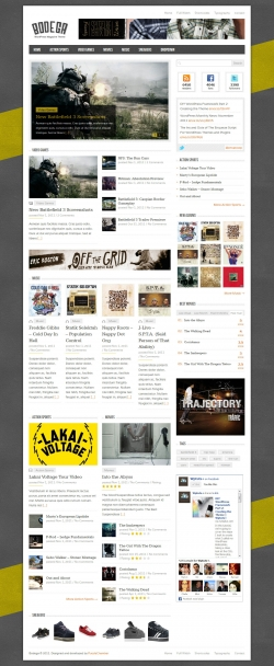 Bodega - WordPress Blog/Magazine Theme - Gaming|Magazine