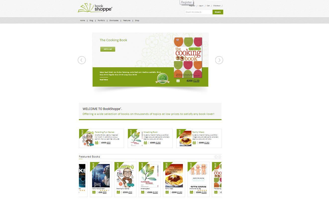 Book Store Responsive WooCommerce Theme - Premium wordpress themes|Ecommerce>WooCommerce
