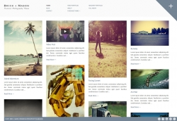 Brick + Mason: Premium Photography and Blog Theme - Photography|Pinterest