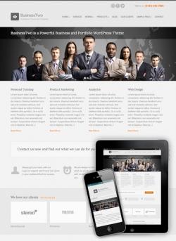 BusinessTwo WordPress Theme - Business