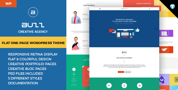 Best One Page WordPress Themes 2014 - Themes4WP