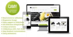 Camy - Clean Responsive Ecommerce Wordpress Theme - Ecommerce>WooCommerce