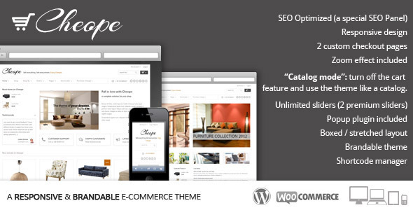 Cheope Shop - Flexible e-Commerce Theme - Ecommerce