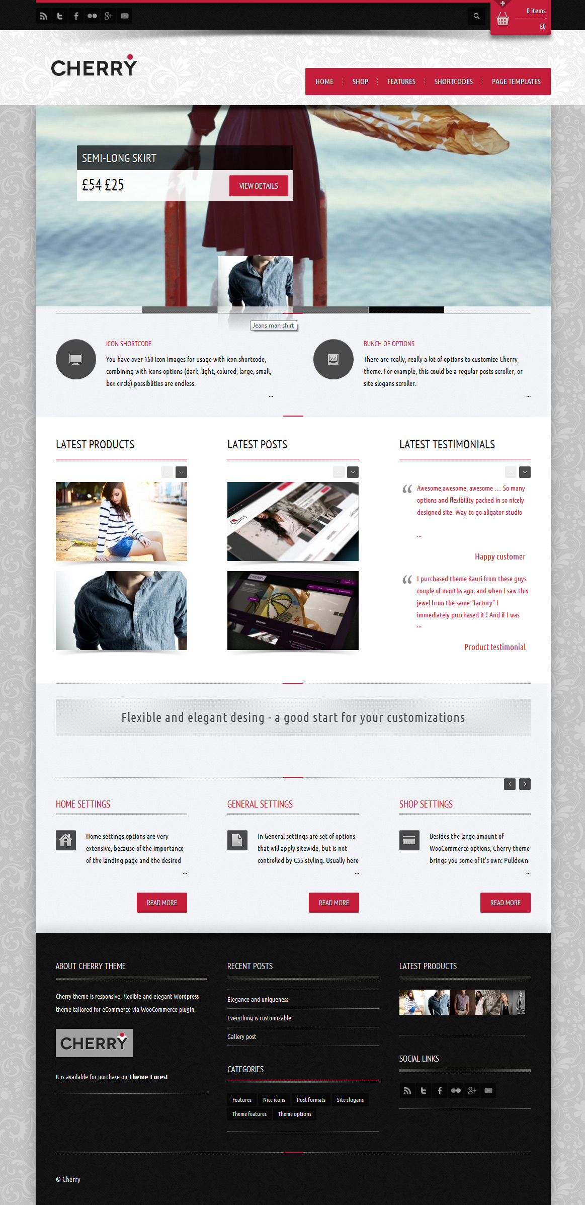 Cherry - responsive e-commerce theme for WP - Ecommerce>WooCommerce