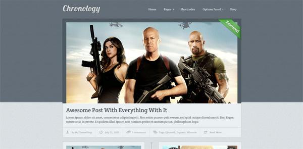 Chronology WordPress Theme - Magazine|Ecommerce>WooCommerce