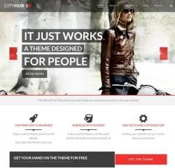 CityHub: Responsive Agency & Blog WordPress Theme - Business