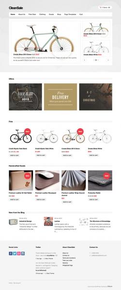 CleanSale - WordPress eCommerce Theme - Ecommerce>WooCommerce