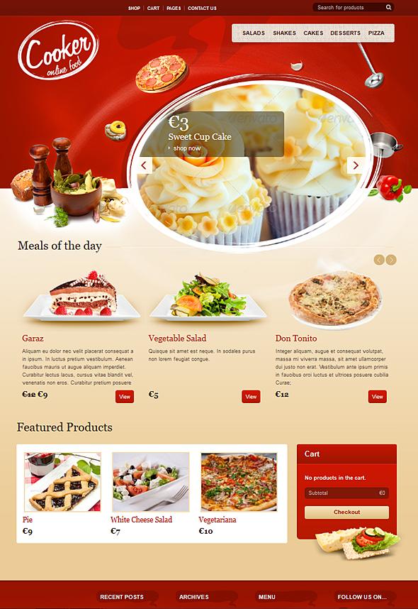 Cooker - Online Restaurant