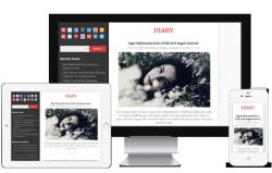 Diary Free WordPress Theme - Blog|Free wordpress themes