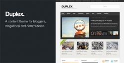 Duplex - Magazine / Community / Blog Theme - Magazine