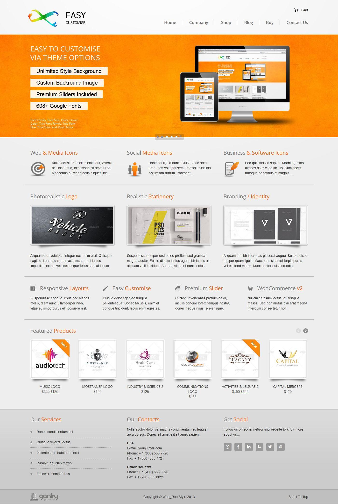 EasyCustomise - Multi-Purpose WordPress Theme - Ecommerce>WooCommerce