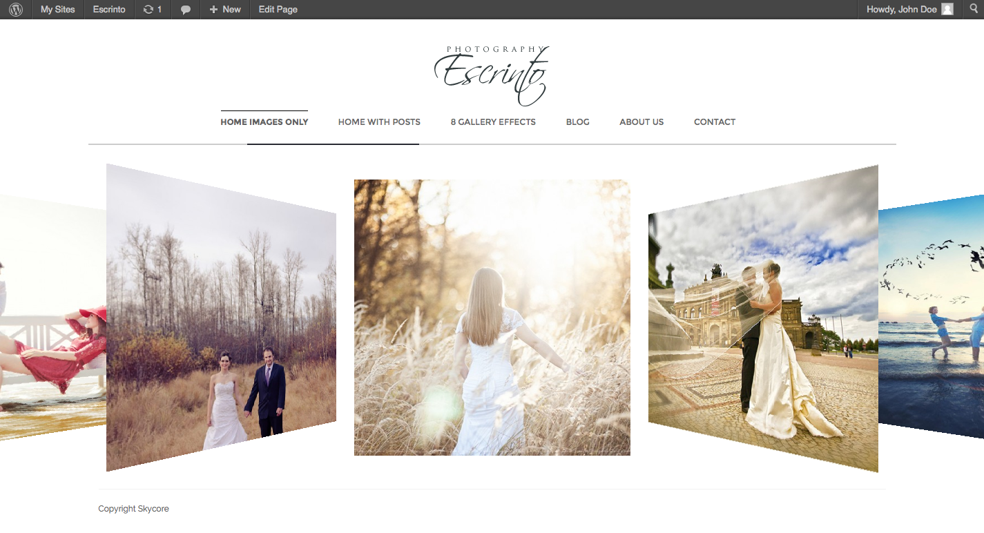 Escrinto Photography WordPress Theme - Photography