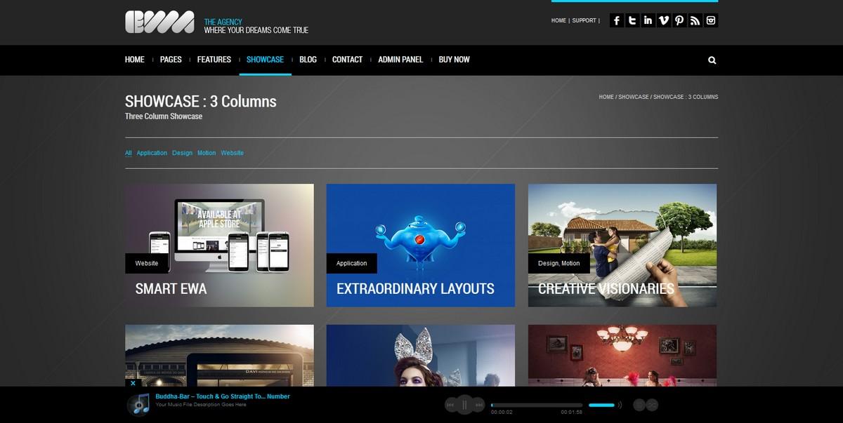 EWA - Bootstrap Multi-Purpose Wordpress Theme - Photography|Ecommerce>WooCommerce