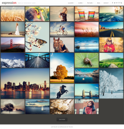 Expression Photography Responsive WordPress Theme - Photography
