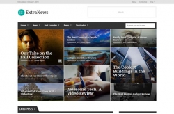 ExtraNews - Responsive News and Magazine Theme - Magazine|Review