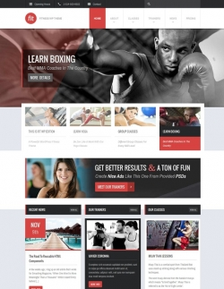 FIT - Fitness/Gym Responsive WordPress Theme - Fitness|Premium wordpress themes