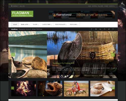 Flagman - Retina Responsive News WordPress Theme - Magazine