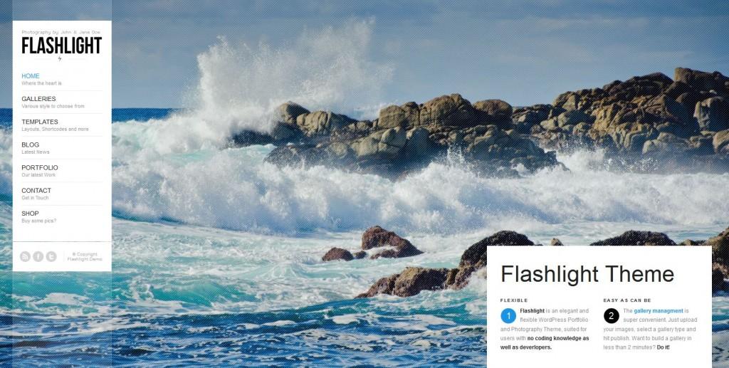 Flashlight - fullscreen background portfolio theme - Premium wordpress themes Ecommerce>WooCommerce