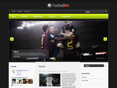 FootballNet - free wordpress theme - Blog|Free wordpress themes