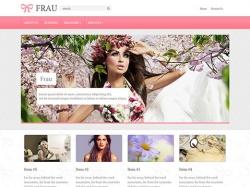Frau - free wordpress theme - Blog|Free wordpress themes|Ecommerce>WooCommerce
