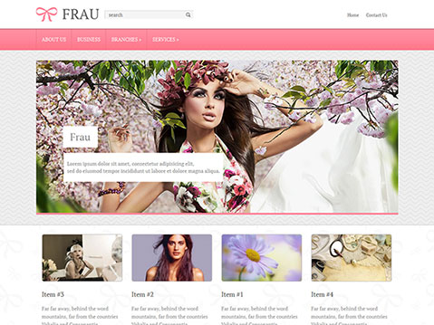 Frau - free wordpress theme - Blog|Free wordpress themes|Ecommerce>WooCommerce