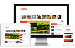 FrontPage Wordpress Theme - Magazine|Ecommerce>WooCommerce