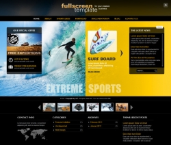 Fullscreen - Business & Portfolio Wordpress Theme - Premium wordpress themes|Sports