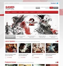 Game Portal WordPress Theme - Gaming