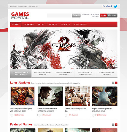 Game Portal WordPress Theme - Gaming