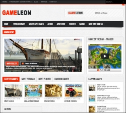 Gameleon - WordPress Arcade Theme - Gaming|Review