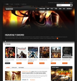 Games - Gaming WordPress Theme - Gaming