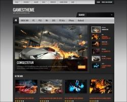 GamesTheme Premium WordPress Theme - Gaming