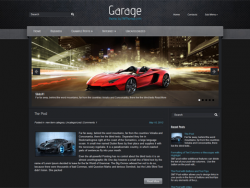 Garage free wordpress theme - Blog|Free wordpress themes