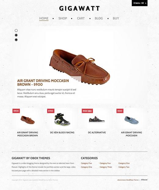 Gigawatt - eCommerce WordPress Theme - Ecommerce>WooCommerce