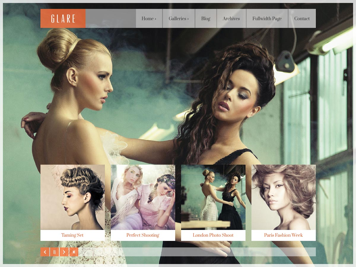 Glare Pinterest style Wordpress Theme - Photography|Pinterest