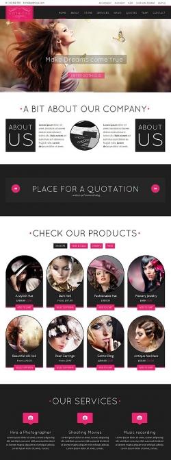 Gothicus - A One Page WooCommerce Wordpress Theme - Ecommerce>WooCommerce