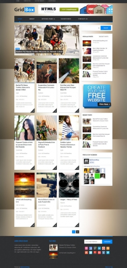 GridBox WordPress Theme - Pinterest|Tumblr-Style
