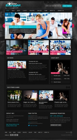 Gym Extream - Gym and Fitness Wordpress Theme - Fitness|Premium wordpress themes