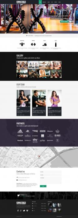 Gym & Fitness - Fitness|Portfolio|Sports