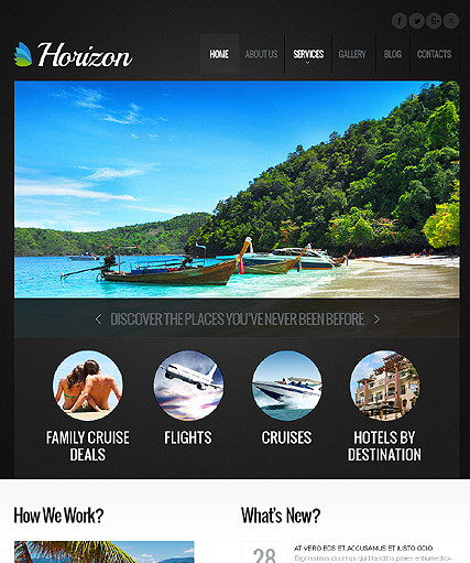 Horizon - Travel Wordpress Theme - Travel