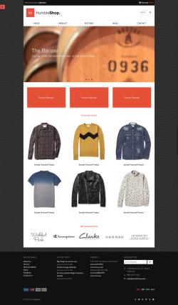 HumbleShop - Minimal Wordpress eCommerce Theme - Ecommerce>WooCommerce