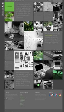 Ikebana - Masonry WordPress Portfolio Theme - Creative|Metro-style|Portfolio