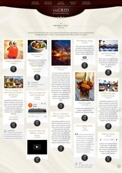 InGRID - Responsive Multi-Purpose WordPress Theme - Pinterest
