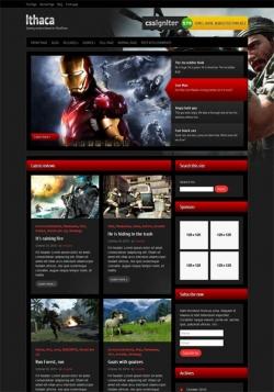 Ithaca - Gaming review WordPress Theme - Gaming