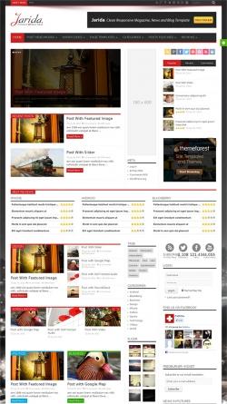 Jarida - Responsive WordPress News