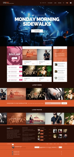 - Music|Premium wordpress themes|Ecommerce>WooCommerce