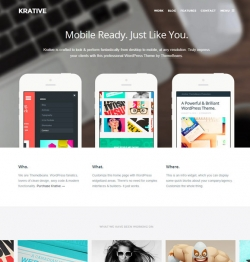 Krative | Responsive Multi-Purpose Business Theme - Business