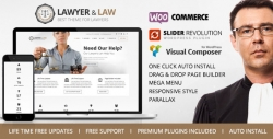 - Lawyer|Premium wordpress themes